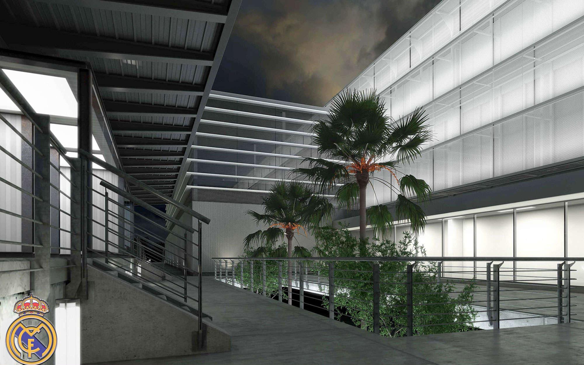Proyecto en la ciudad deportiva del real madrid arbau - Arquitectos ciudad real ...