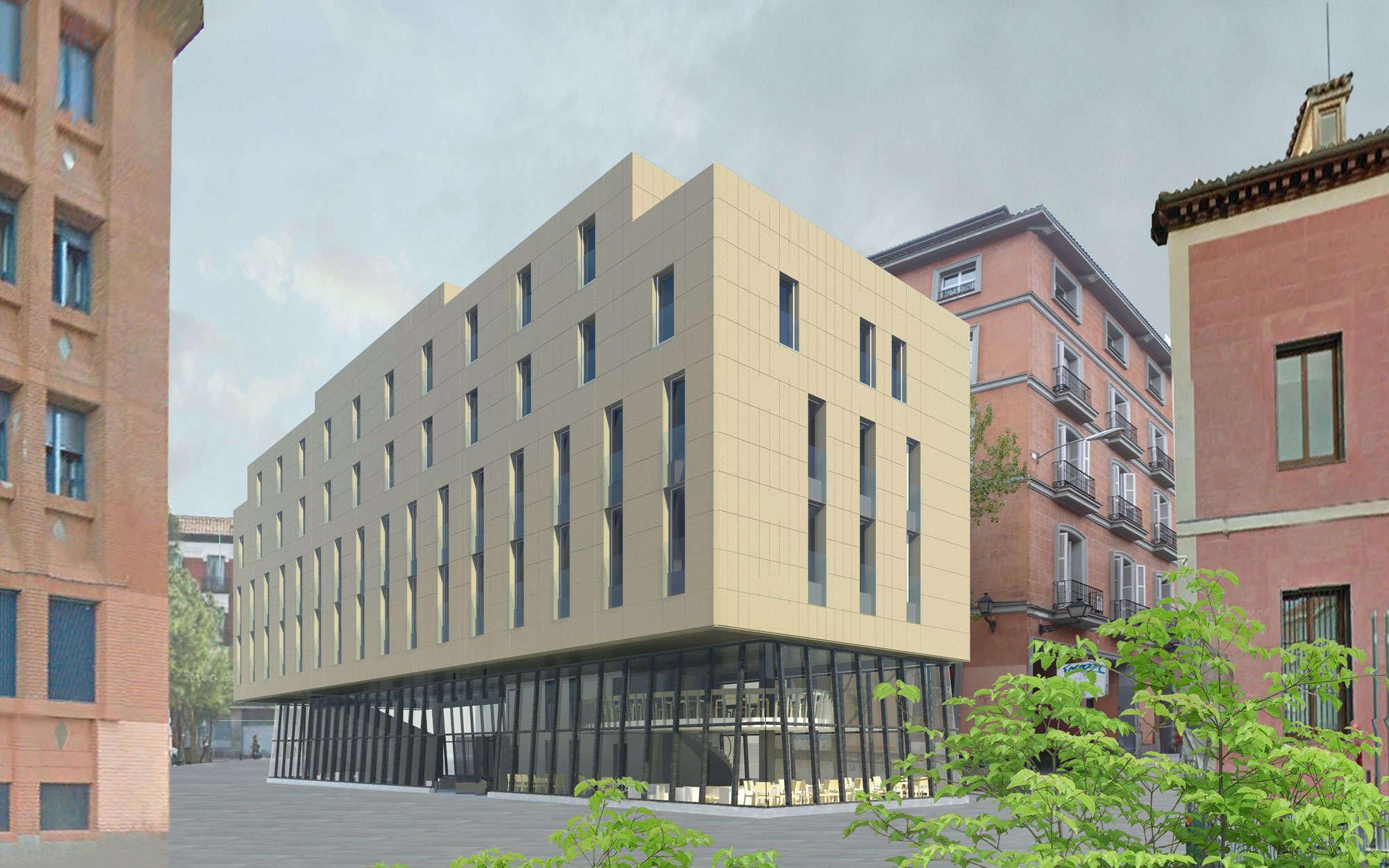 Hostel en calle san mateo en madrid arbau arquitectos - Arquitectos interioristas madrid ...