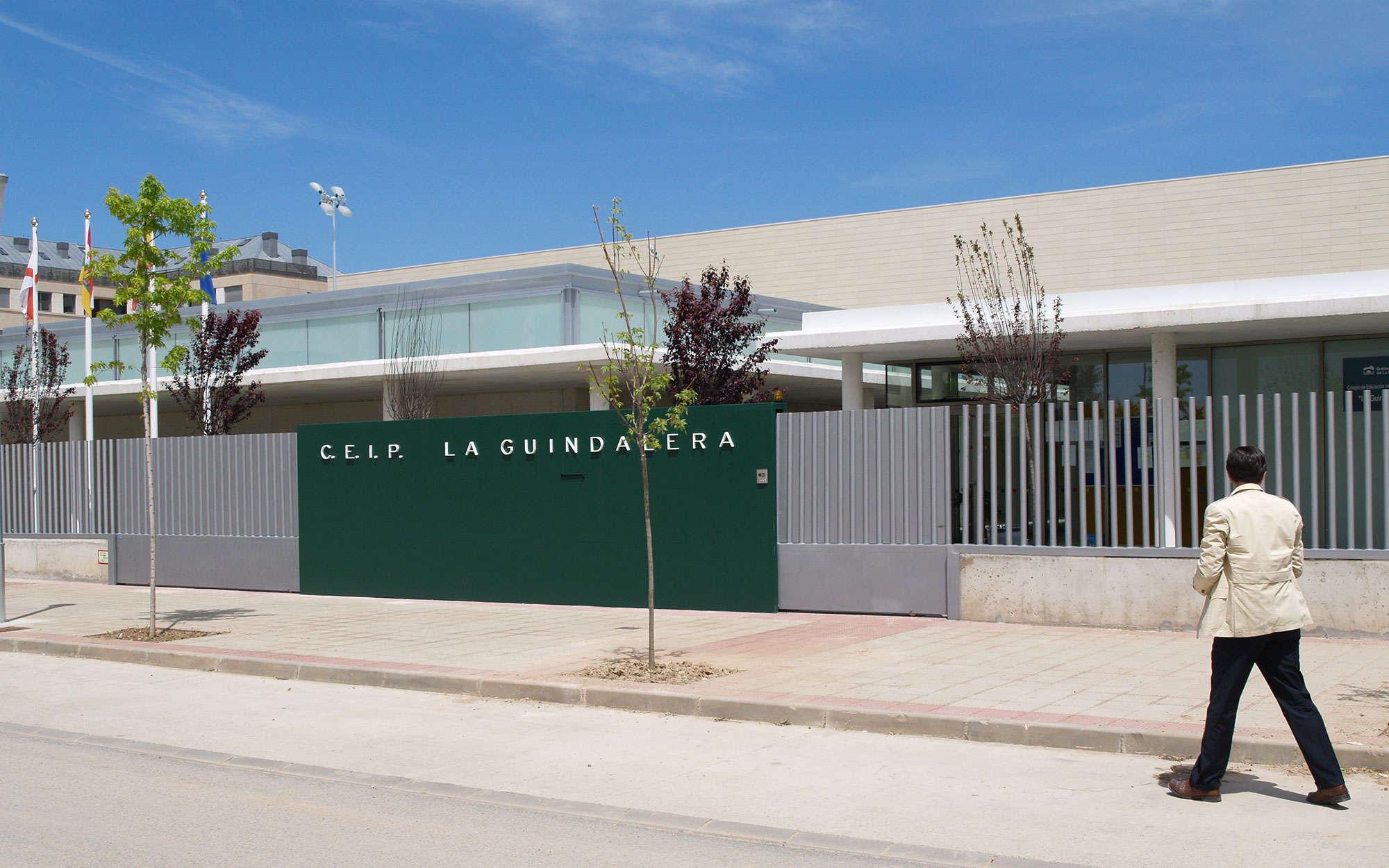 Colegio la guindalera en logro o arbau arquitectos - Arquitectos logrono ...