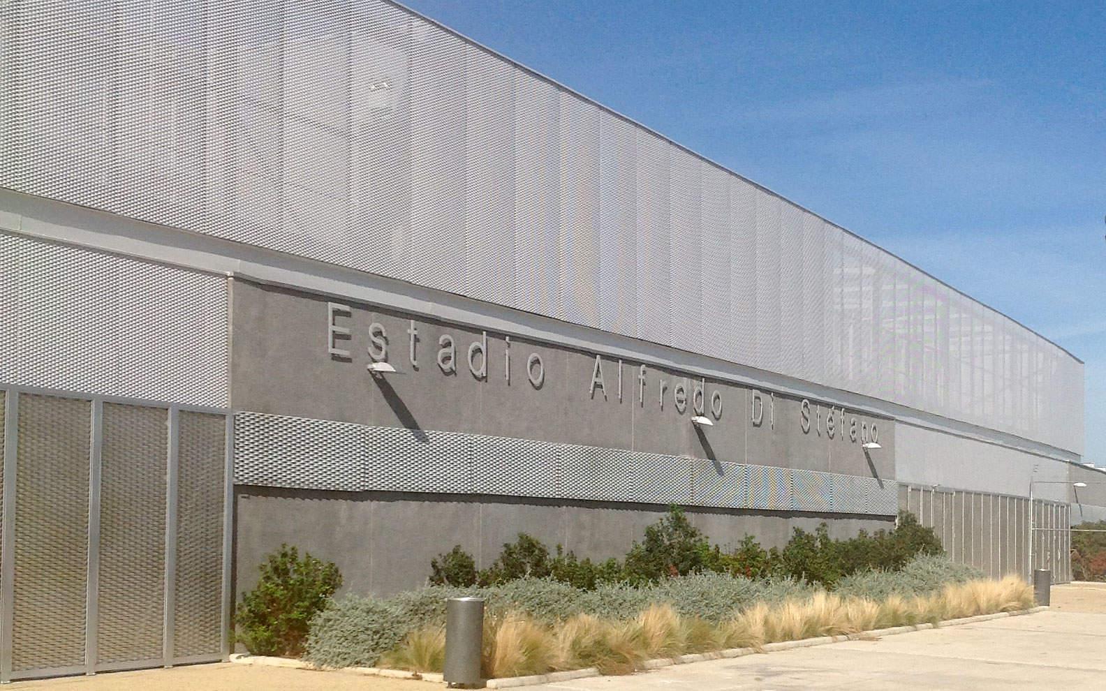 Ampliación en el lateral de la Ciudad deportiva Real Madrid