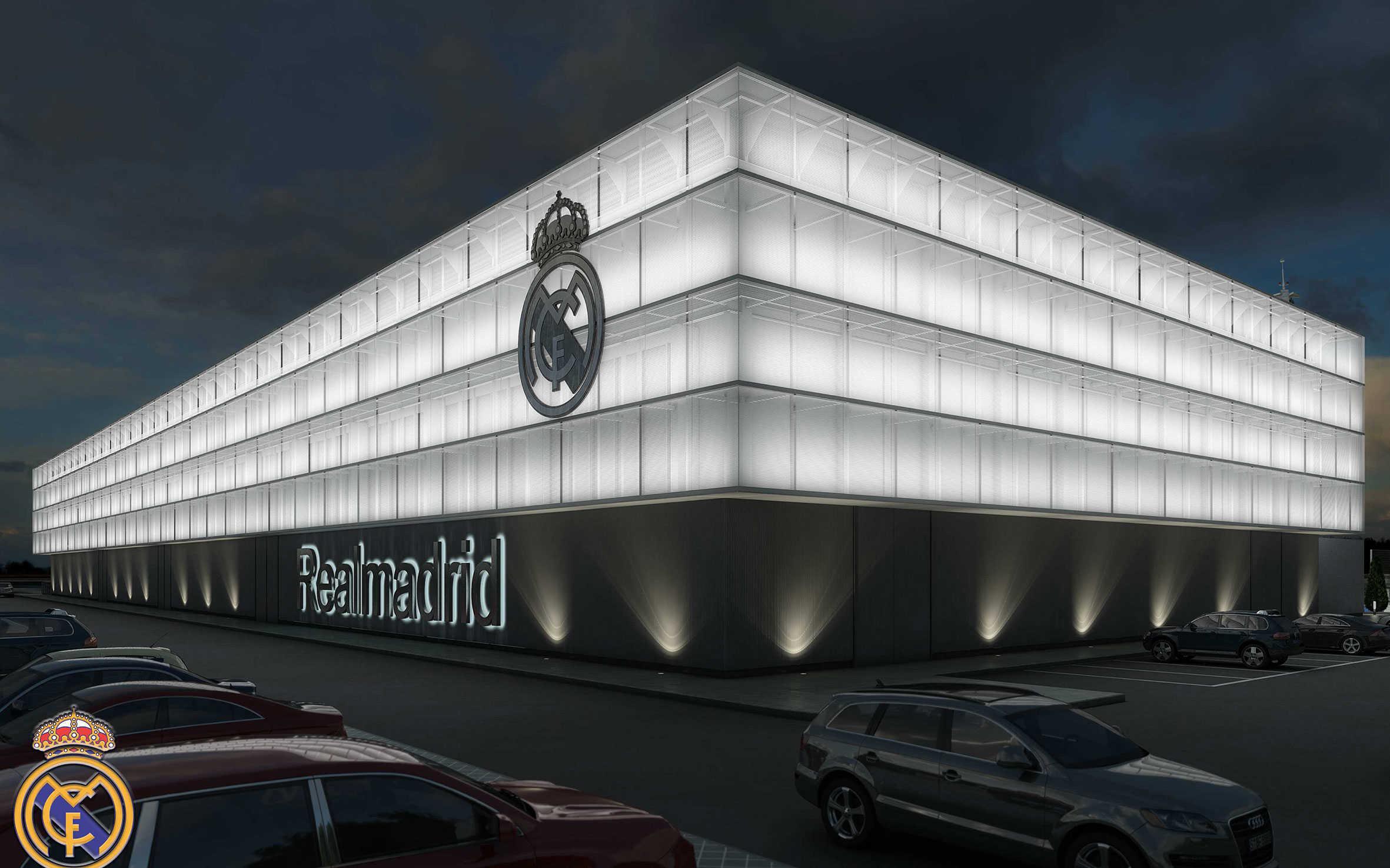 Proyecto en la ciudad deportiva del real madrid arbau - Oficinas real madrid ...