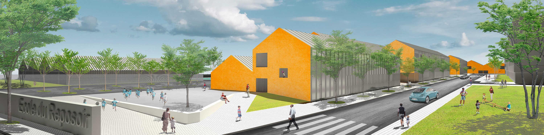 Centro escolar y deportivo en Nyon